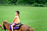 Lily on Her Pony Ride
