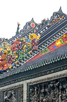 Decorative Roof of Chen Family Temple.