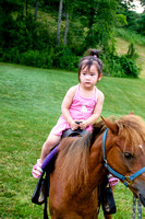 Hansi on Her Pony Ride